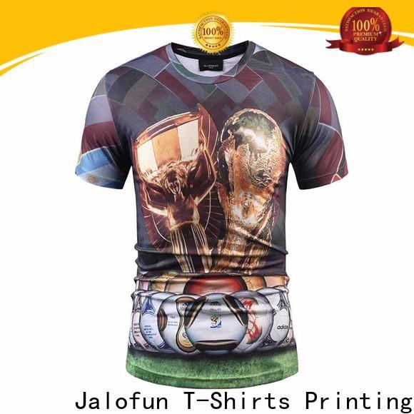 Jalofun Best custom screen print shirts for business for sport