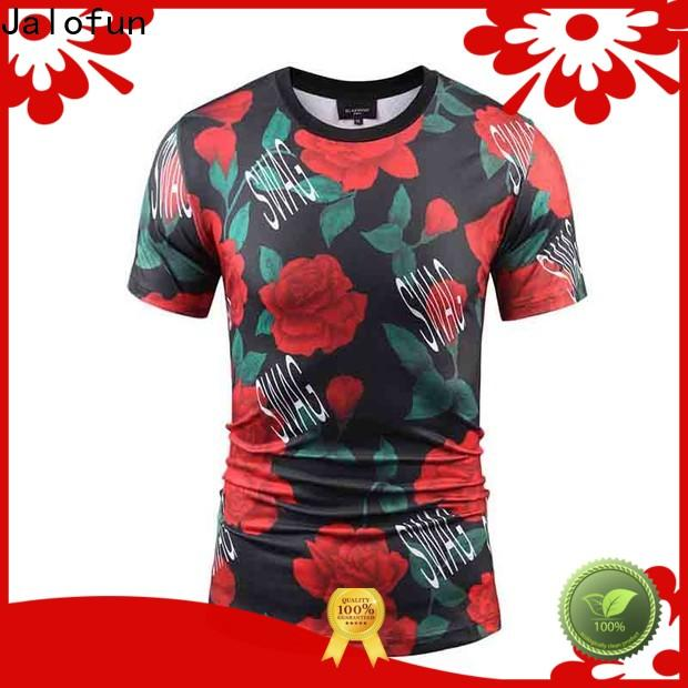 Top tee shirt printing promotion supply for summer