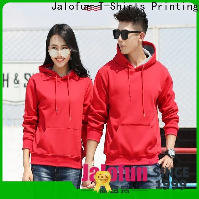 Jalofun fleece custom hooded sweatshirts company for woman