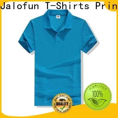 Top cotton polo shirts hem factory for class uniform