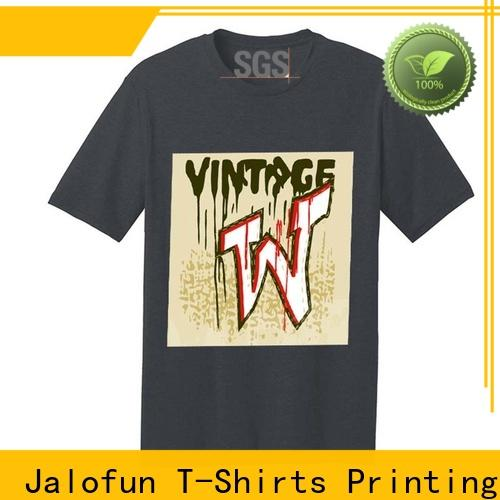 Wholesale custom tee shirt printing professional for sale for work clothes