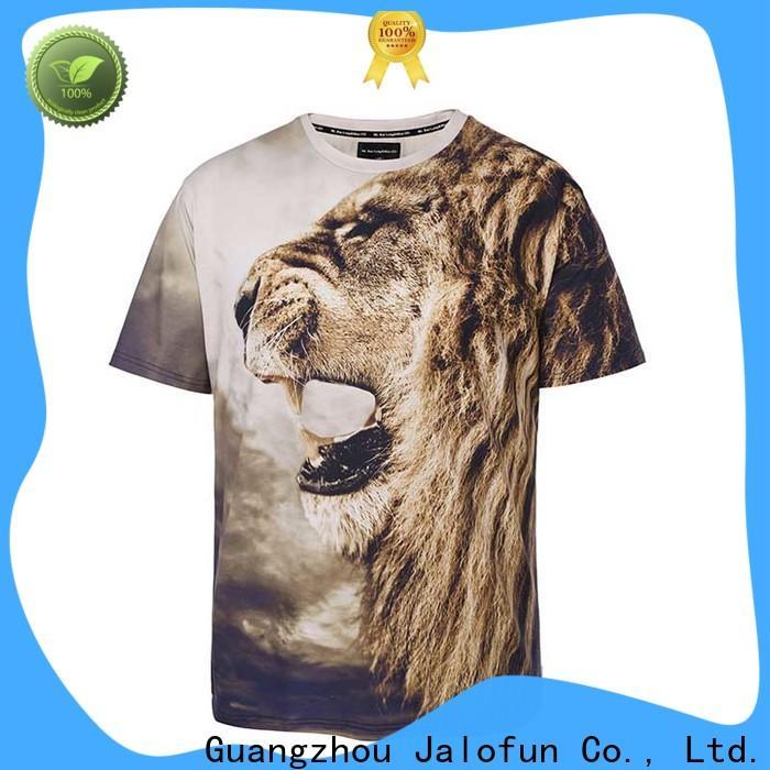 Jalofun bespoke silk screen printing t shirt suppliers for work