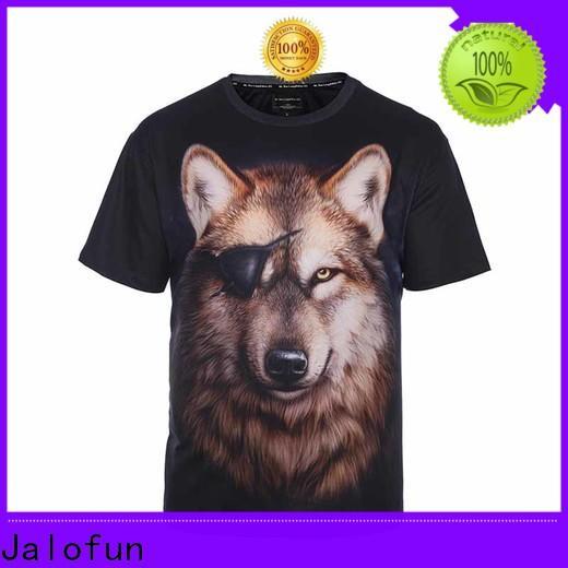 Jalofun New custom screen print shirts for business for sport