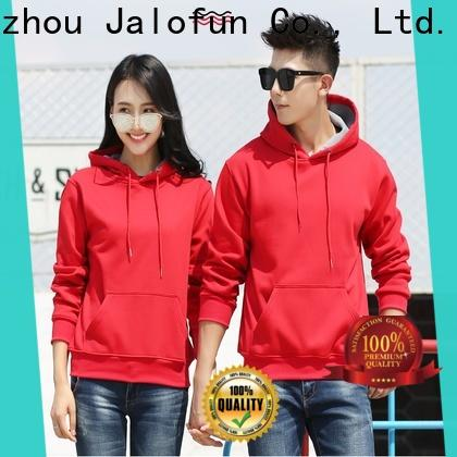 Jalofun Latest custom hooded sweatshirts for business for winter