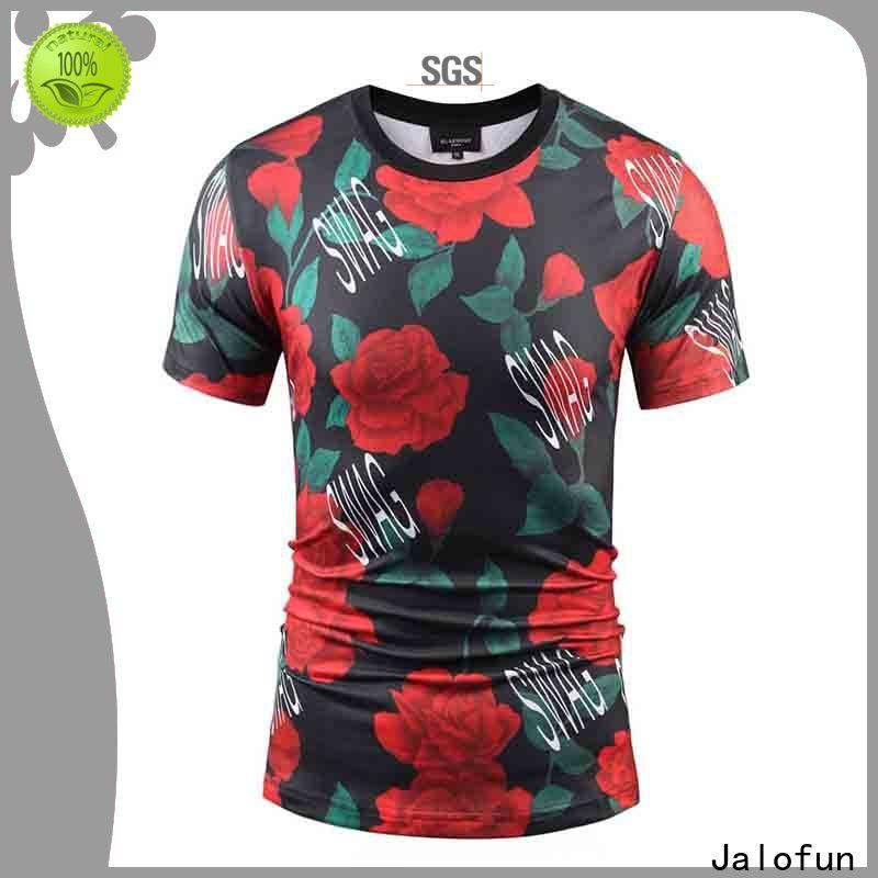 Wholesale heat transfer printing t shirt customized factory for work clothes