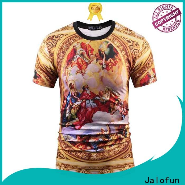 Jalofun printing cotton t shirt suppliers for dating