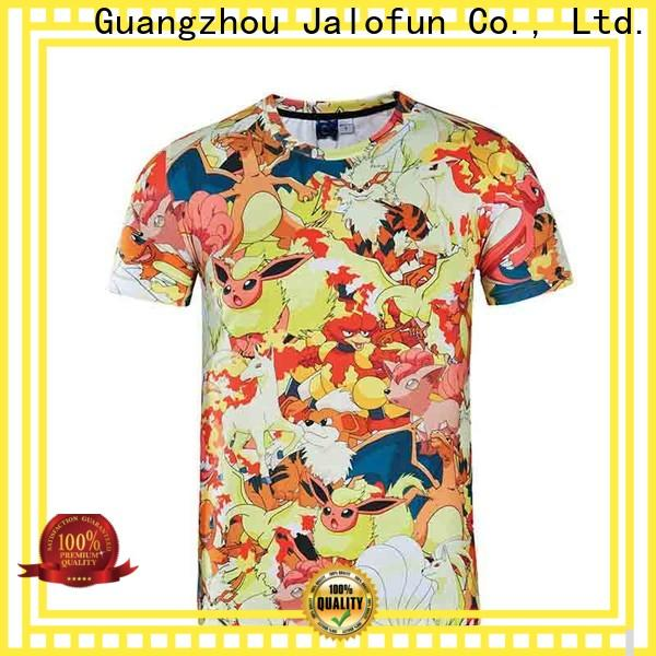 Jalofun Wholesale custom prints shirts supply for travel