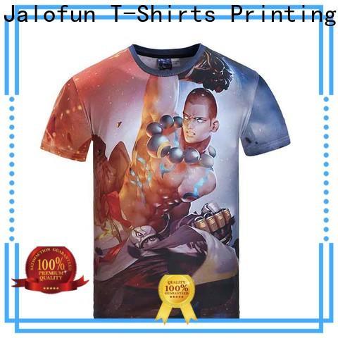 Jalofun professional custom screen print shirts manufacturers for spring
