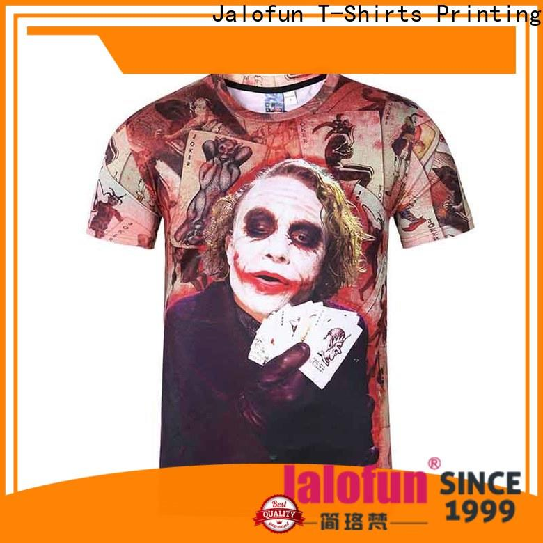 Jalofun made cotton t shirt factory for dating