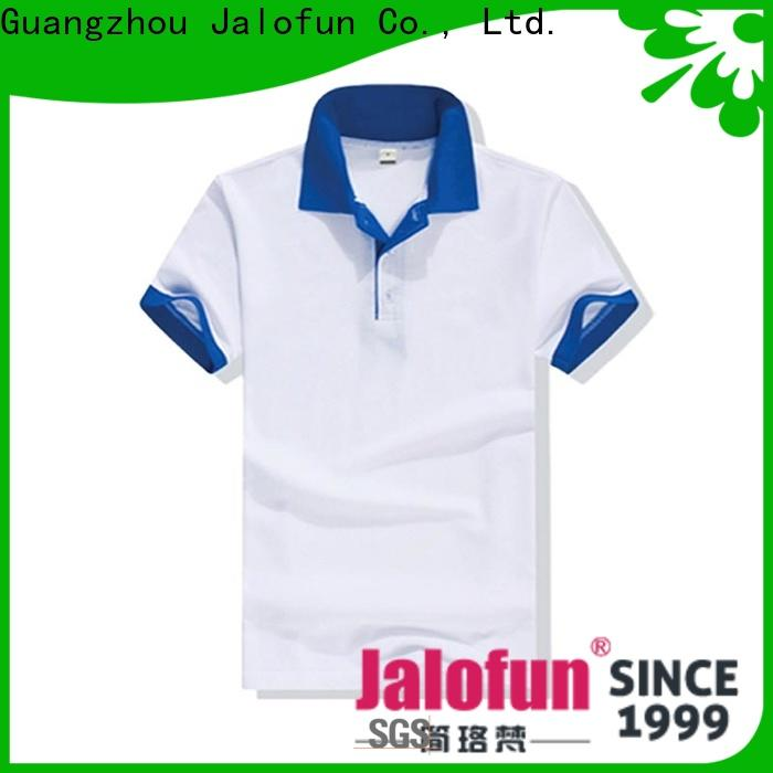 New pique polo shirt hem for business for work clothes