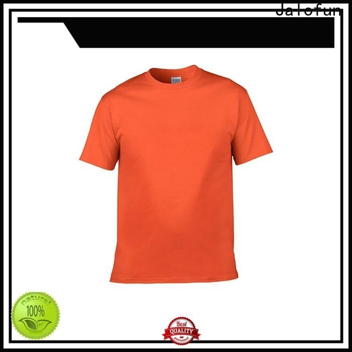 Jalofun Custom silk screen printing t shirt manufacturers for summer