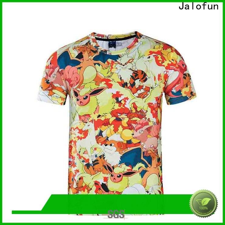 Jalofun Latest custom screen print shirts for business for work