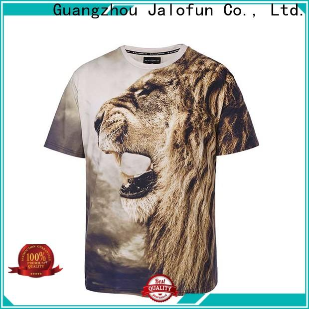 Jalofun Top sublimation printing t shirt supply for dating