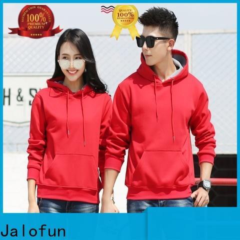 Jalofun Top custom hooded sweatshirts supply for winter