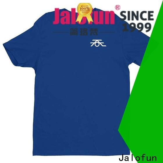 Jalofun promotion custom prints shirts for sale for work clothes
