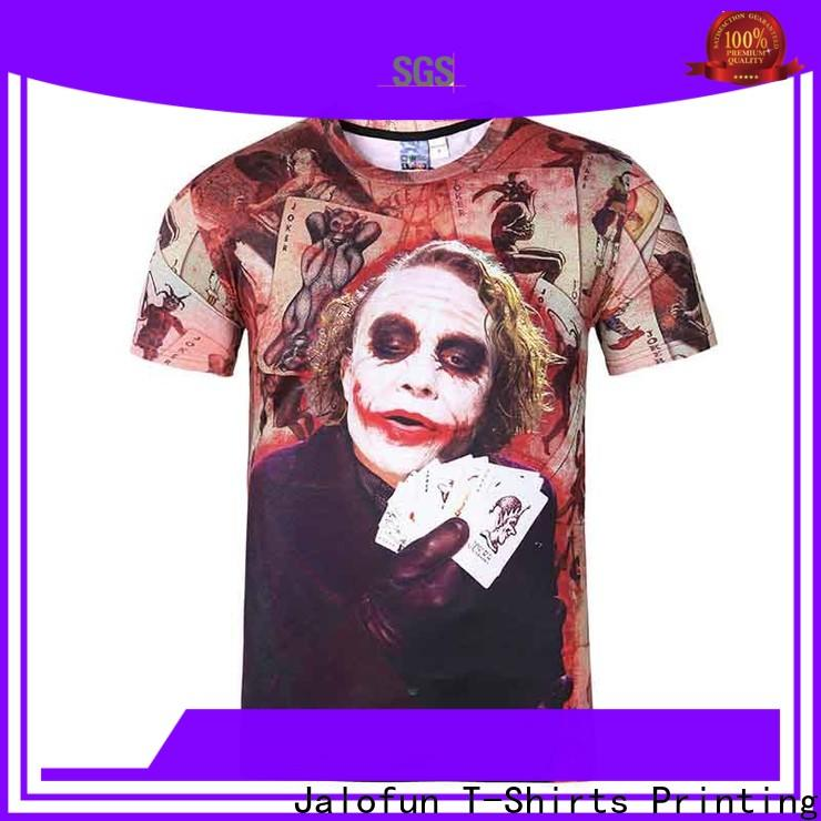 Jalofun Custom custom prints shirts suppliers for work