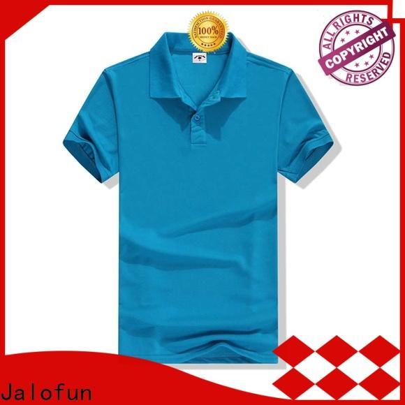 Jalofun quality custom polo shirt factory for class uniform