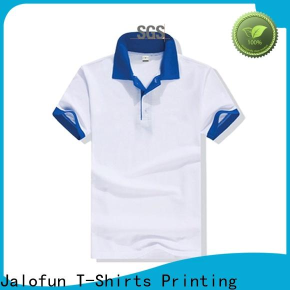 Jalofun lightweight cotton polo shirts suppliers for travel