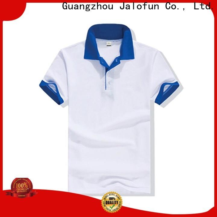 Jalofun New cotton polo shirts suppliers for travel