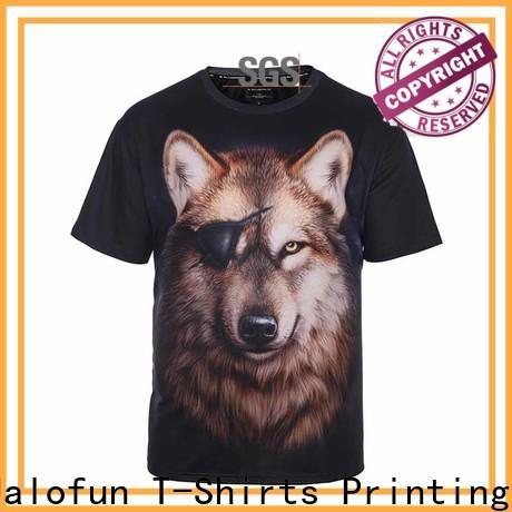 Jalofun Custom heat transfer printing t shirt supply for outdoor activities
