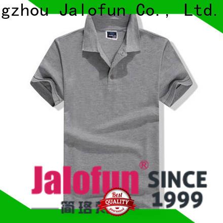 Jalofun Latest custom polo shirt supply for going to school