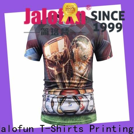 Jalofun High-quality customized tee shirts company for leisure time