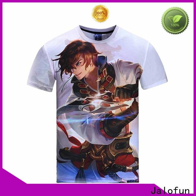 Jalofun low custom screen print shirts manufacturers for spring