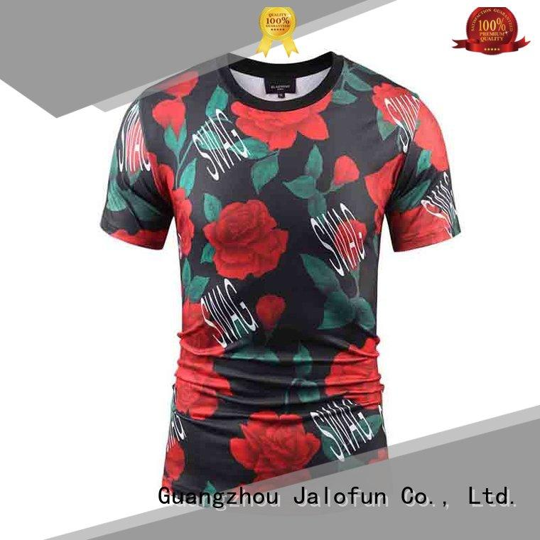 cotton sublimation printing t shirt price for sport Jalofun
