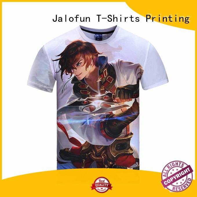 screen tee shirt fashion price for summer Jalofun