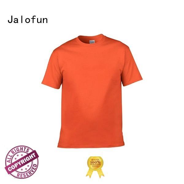 Jalofun plain sublimation printing t shirt company for man