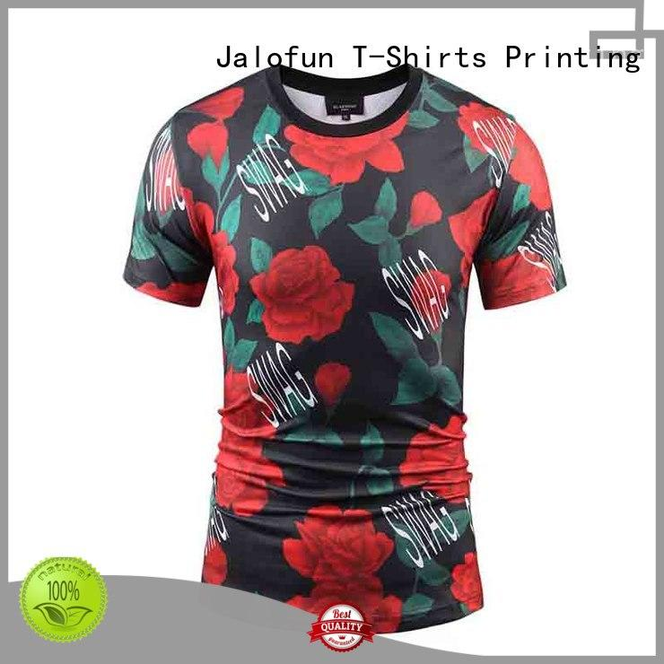 Jalofun made bespoke t shirt printing company for leisure time