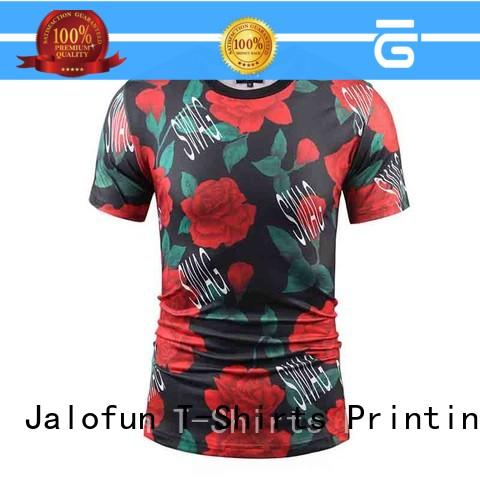 Jalofun shirt direct to garment printing t shirt supply for leisure time