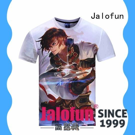 Jalofun cheap custom bespoke t shirt printing for business for leisure time