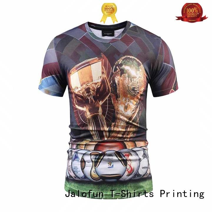 professional direct to garment t shirts cotton for travel Jalofun