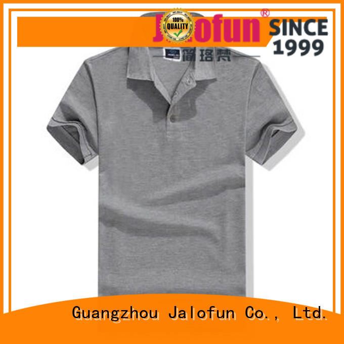 Jalofun professional cotton polo shirts for sale for going to school