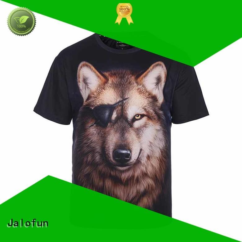 Jalofun printing heat transfer printing t shirt company for man