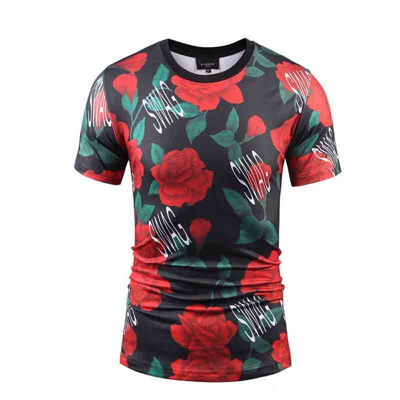 Cheap Custom Screen Print Shirts with Logo/ Sublimation T Shirts-2