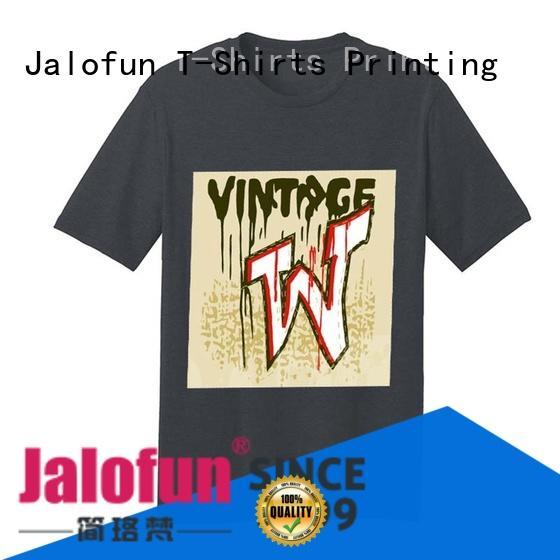 Jalofun new arrival custom prints shirts for business