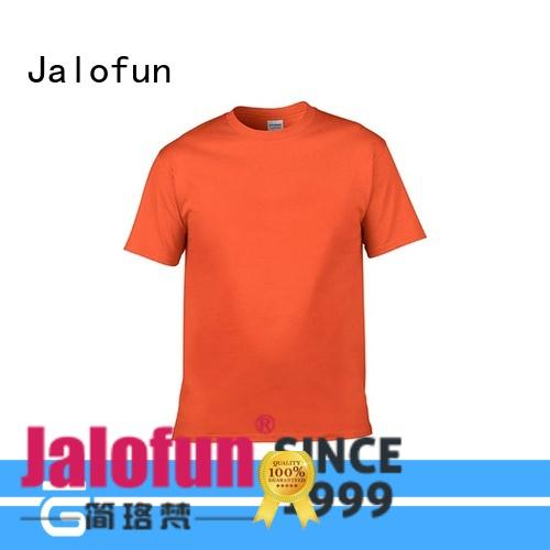 Jalofun casual custom prints shirts factory for leisure time