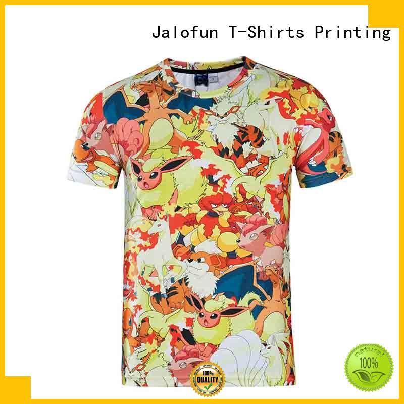 Jalofun comfortable customized tee shirts supply for travel