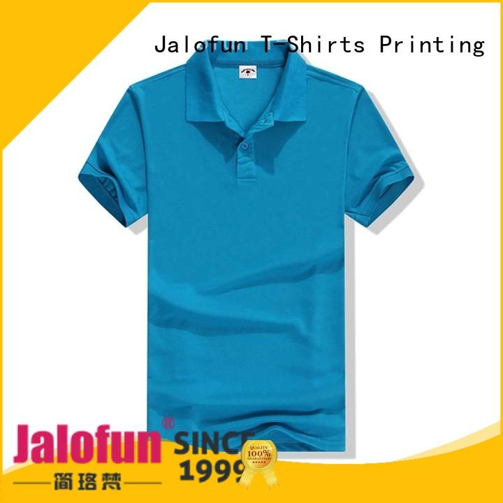 Jalofun high-quality custom polo shirt factory for going to school