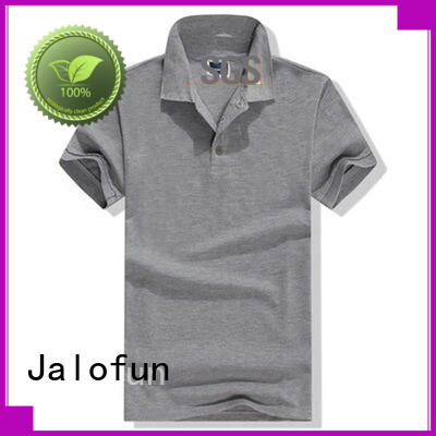 Jalofun custom logo pique polo shirt for business for work