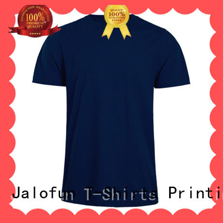 high quality custom t shirts quality for class uniform Jalofun