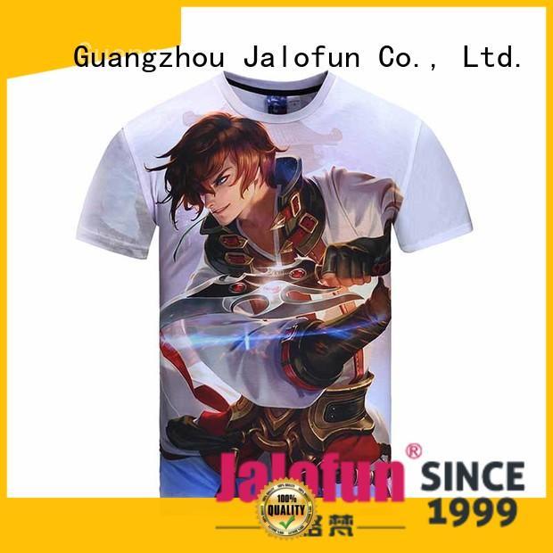 comfortable custom tee shirt printing tshirts factory for class uniform