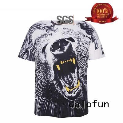 Jalofun tshirts heat transfer t shirt by Chinese manufaturer for dating