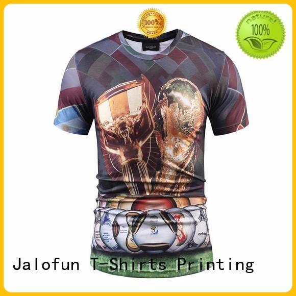 Jalofun High-quality customized tee shirts company for man