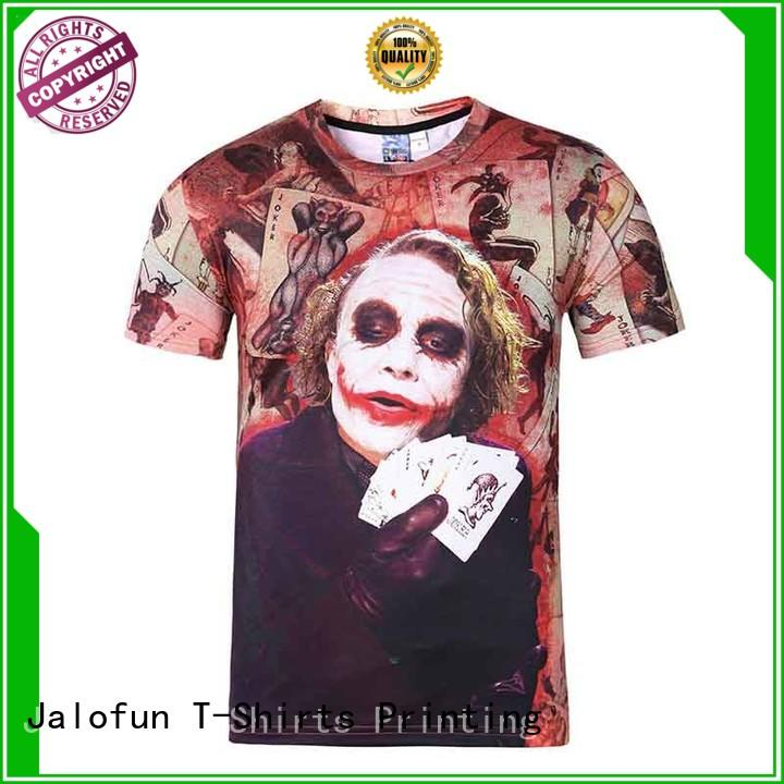 printing sublimation printing t shirt price supply for travel
