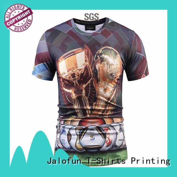 printed man tee shirt tee for work clothes Jalofun