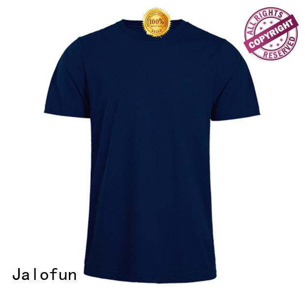 polyester silk screen tee shirts free design for summer Jalofun