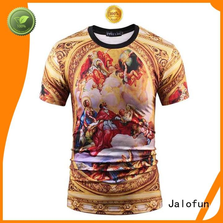 Cheap Sublimation Printing T Shirt with Custom Logo